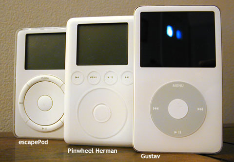 iPod Evolution escapePod Pinwheel Herman Gustav