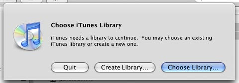 iTunes 7 multiple libraries