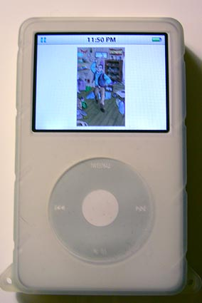 Choose Your Own Adventure image on iPod
