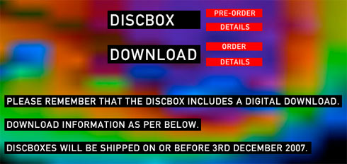 in Rainbows.com Diskbox