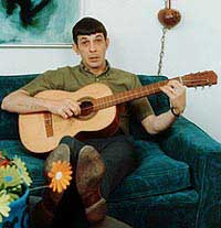 nimoy strums guitar
