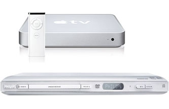 Apple TV and Philips' DVP642