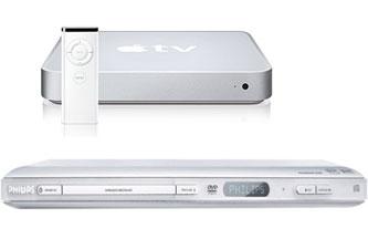 Apple TV and Philips' DVP642